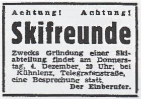 Bergische Morgenpost 1952