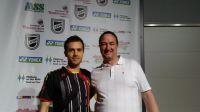 Andre mit Marc Zwiebler YGO 2015