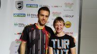 Jan mit Marc Zwiebler YGO 2015
